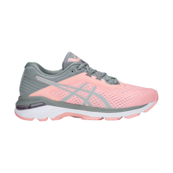 Asics GT 2000 6 Femme Frosted Rose / Stone Grey
