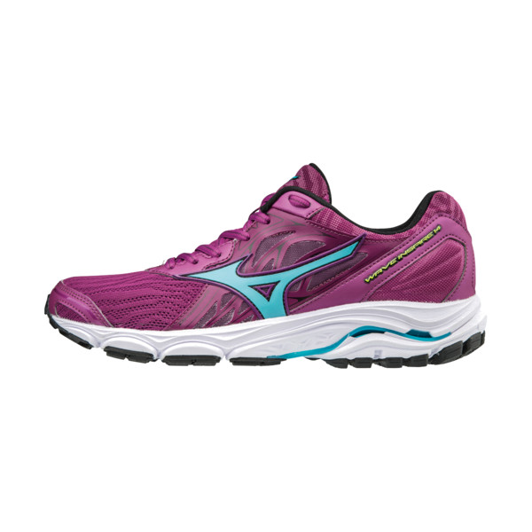 Mizuno Wave Inspire 14 Femme Clover / Blueatoll / Syellow