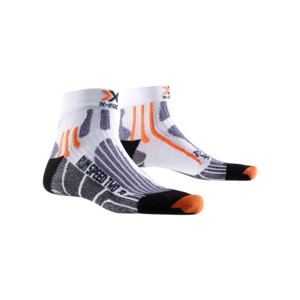 X-Socks Run Speed Two Homme Blanc / Noir