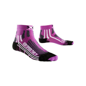 X-Socks Run Speed Two Femme Violet / Noir