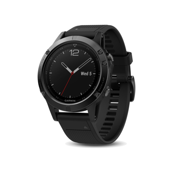 Garmin Fenix 5 Sapphire Black With Black Band