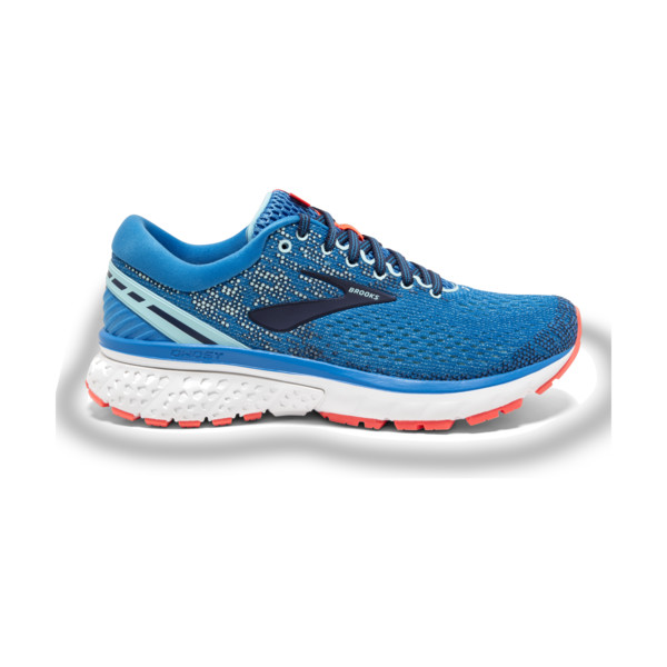 Brooks Ghost 11 Femme Blue / Navy / Coral