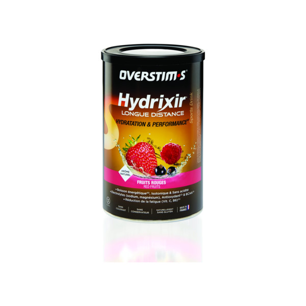 Overstim Hydrixir Longue distance Fruits rouges