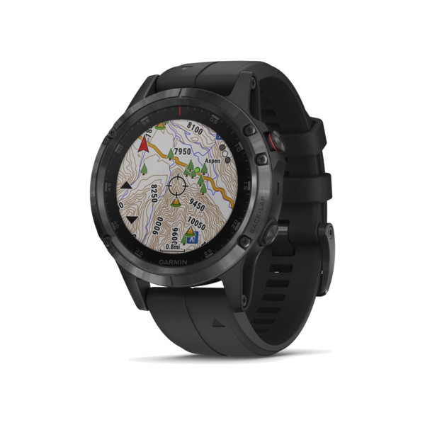 Garmin Fenix 5 Silver Granite Blue Band