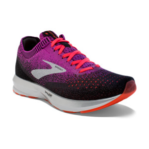 Brooks Levitate 2 Femme Purple/fiery Coral/black