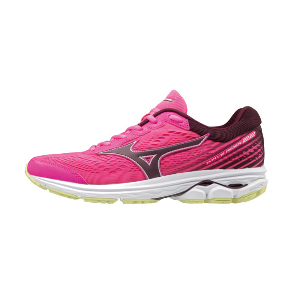 Mizuno Wave Rider 22 Femme Pglow/portroyal/charlock