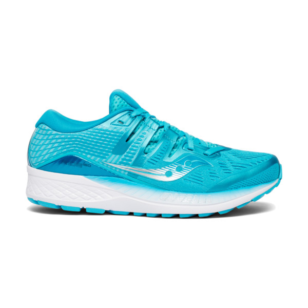 Saucony Ride ISO 10 Femme Blue