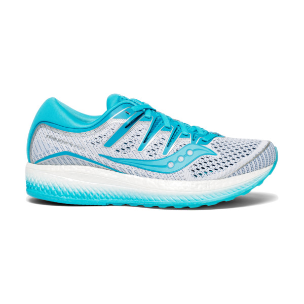 Saucony Triomph Iso 5 Femme White/blue