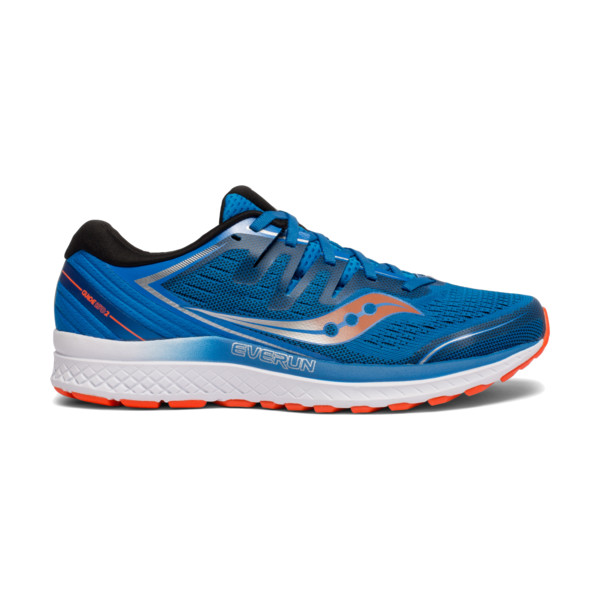 Saucony Guide ISO 2 Homme Blue/orange