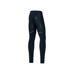 Gore R3 PARTIAL WINDSTOPPER LONG TIGHT Homme Black