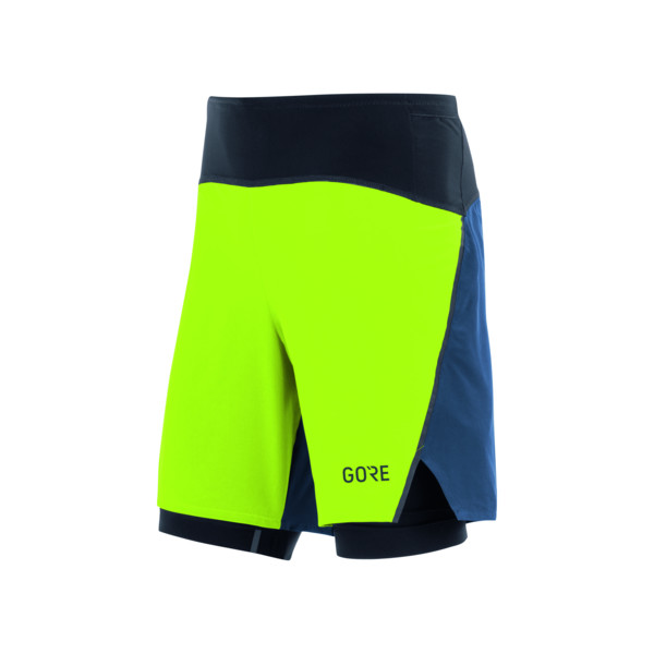 Gore Short 2in1 Homme Petrole