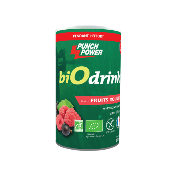Punch Power Biodrink fruits rouges antioxydant