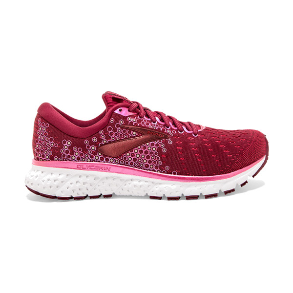 Brooks Glycerin V17 Femme Rumba Red/teaberry/gold