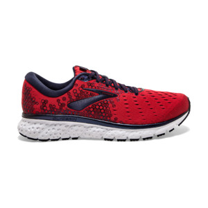 Brooks Glycerin V17 Homme Red/biking Red/peacoat