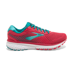 Brooks Ghost V12 Femme Teaberry/rumba/viridian