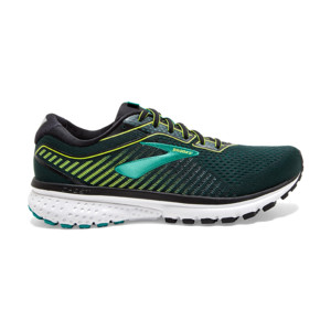 Brooks Ghost V12 Homme Black/lime/blue Grass