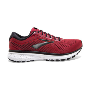 Brooks Ghost V12 Homme Red/biking Red/black