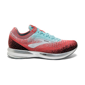 Brooks Levitate V2 Femme Coral/blue/black