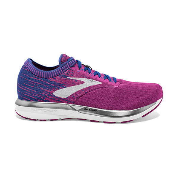 Brooks Ricochet Femme Aster/purle/blue