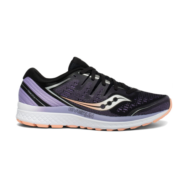 Saucony Guide ISO 2 Femme Blk/pur