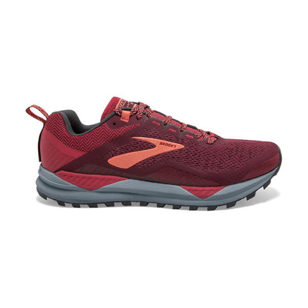 Brooks Cascadia V14 Femme Rumba Red/teaberry/coral