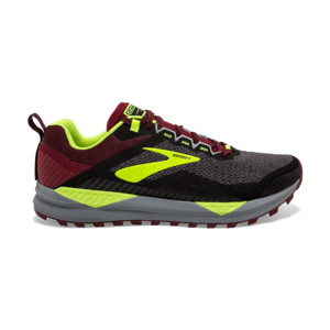 Brooks Cascadia V14 Homme Black/red/nightife