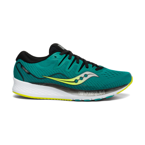 Saucony Ride ISO 2 Homme Grn/blk