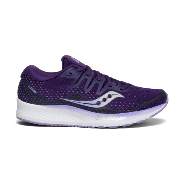 Saucony Ride ISO 2 Femme Purple