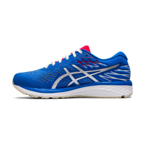 Asics Gel Cumulus 21 Homme Electric Blue White