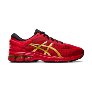 Asics Gel Kayano 26 Homme Classic Red / Rure Gold