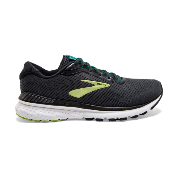Brooks Adrenaline GTS 20 Homme Black / Lime / Blue Grass
