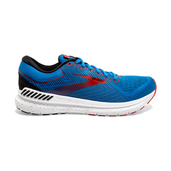 Brooks Transcend 7 Homme Mazarine / Black / Red