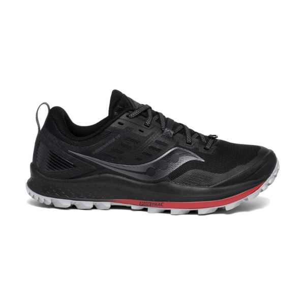Saucony Peregrine 10 Homme Black / Red
