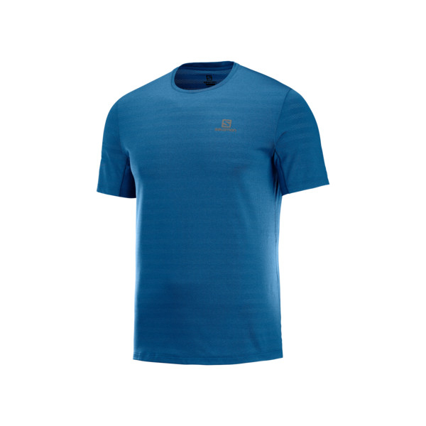 Salomon XA T-shirt Homme Poseidon Heather