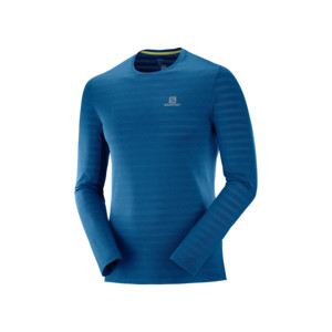 Salomon XA LS T-shirt Homme Poseidon Heather
