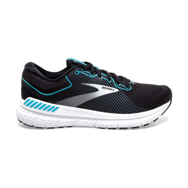 Brooks Transcend 7 Femme Black / Grey / Black