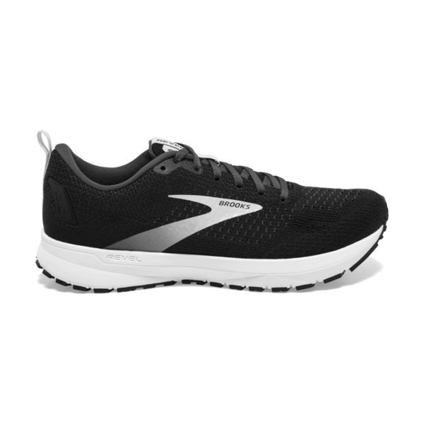 Brooks Revel 4 Homme Black / Grey / Black