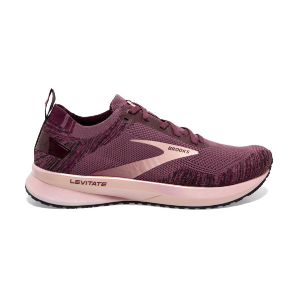 Brooks Levitate 4 Femme Black / Grey / Black