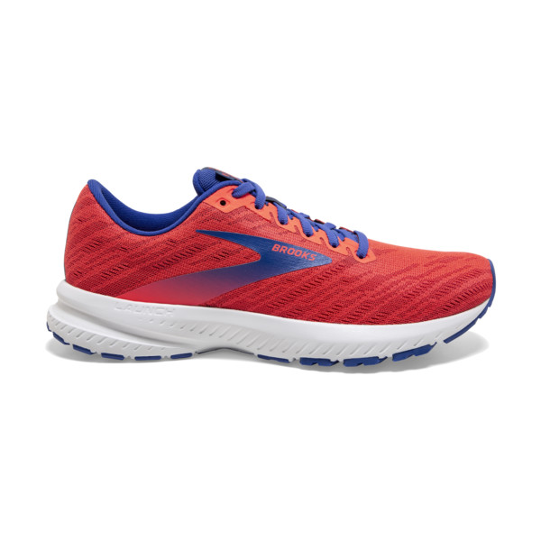Brooks Launch 7 Femme Coral / Claret / Blue