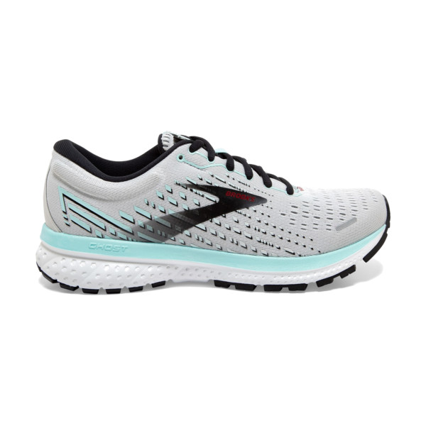 Brooks Ghost 13 Femme Black / Grey / Black