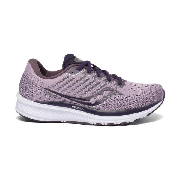 Saucony Ride 13 Femme Charcoal / Red