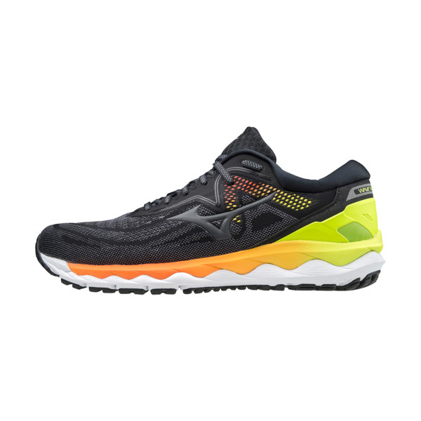 Mizuno Wave Sky 4 Homme Phanntom / Castlerock / Safety Yellow
