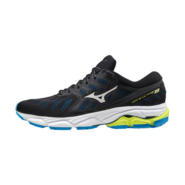 Mizuno Wave Ultima 11 Homme Black / White / Dive Blue