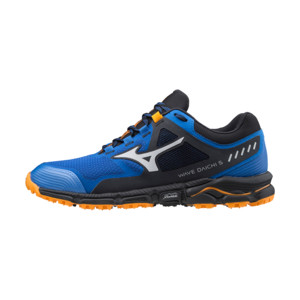 Mizuno Wave Daichi 5 Homme Princess Blue / Lunar Rock / Flame Orange
