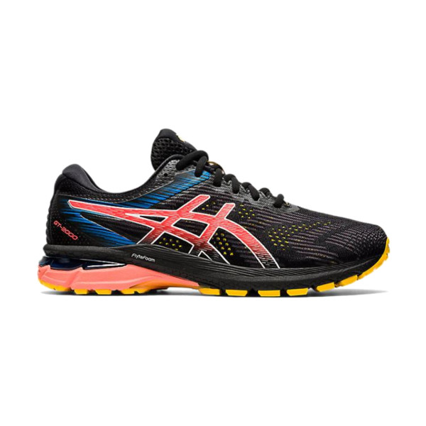 Asics GT-2000 Homme Black/sunrise Red