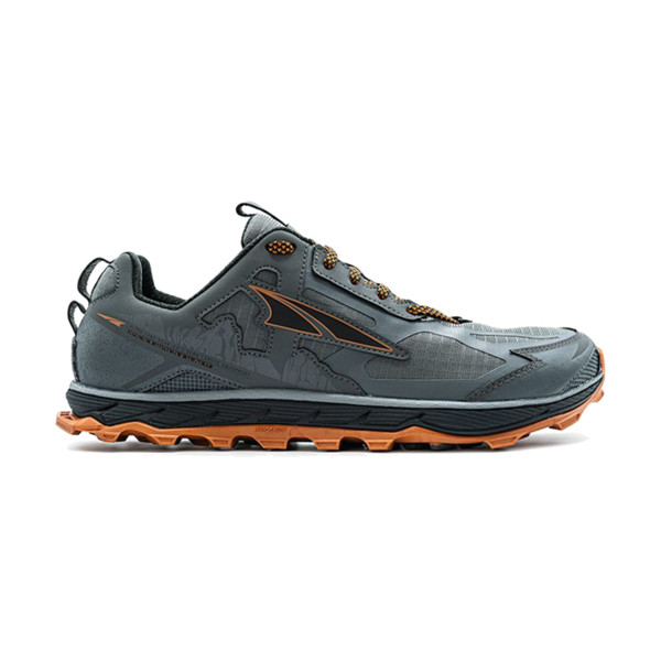 Altra LONE PEAK 4.5 Homme Gris/orange