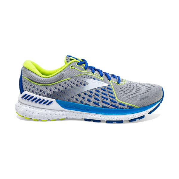 Brooks Adrenaline GTS 21 Homme Grey/white/indigo